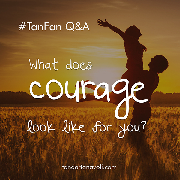 Q&A-courage